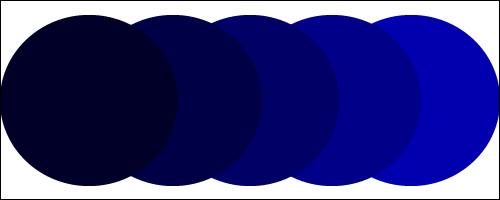 収縮カラー【ブルー・ネイビー】