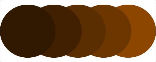 収縮カラー【ブラウン系】