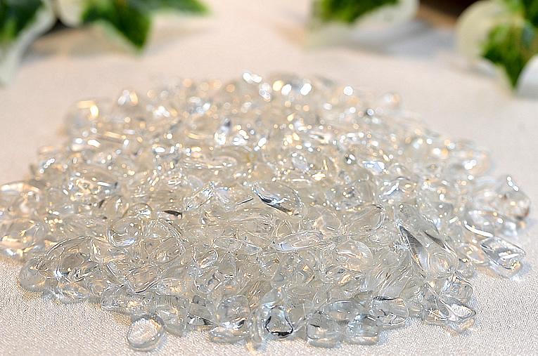 水晶のさざれ石